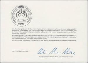 MinKa 25/1984 Anti-Raucher-Kampange