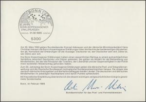 MinKa 07/1985 Bonn-Kopenhagener Erklärungen
