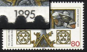 1786 Regensburg: Verzähnung in der Jahreszahl, **