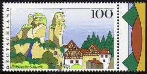 1807 Fränk. Schweiz - Verzähnung in der Jahreszahl postfrisch **
