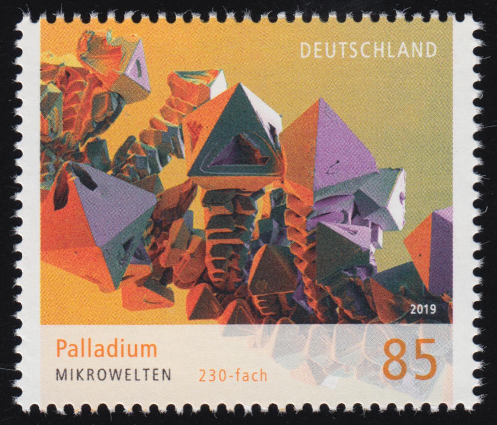 3466 Mikrowelten: Palladium ** postfrisch 0