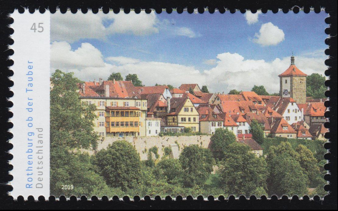 3454 Panorama Rothenburg ob der Tauber, links, ** 0