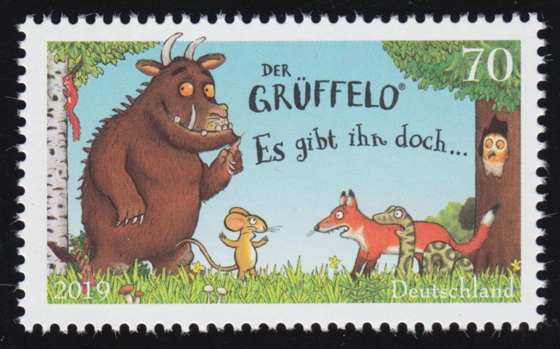 3450 Der Grüffelo, nassklebend, ** 0