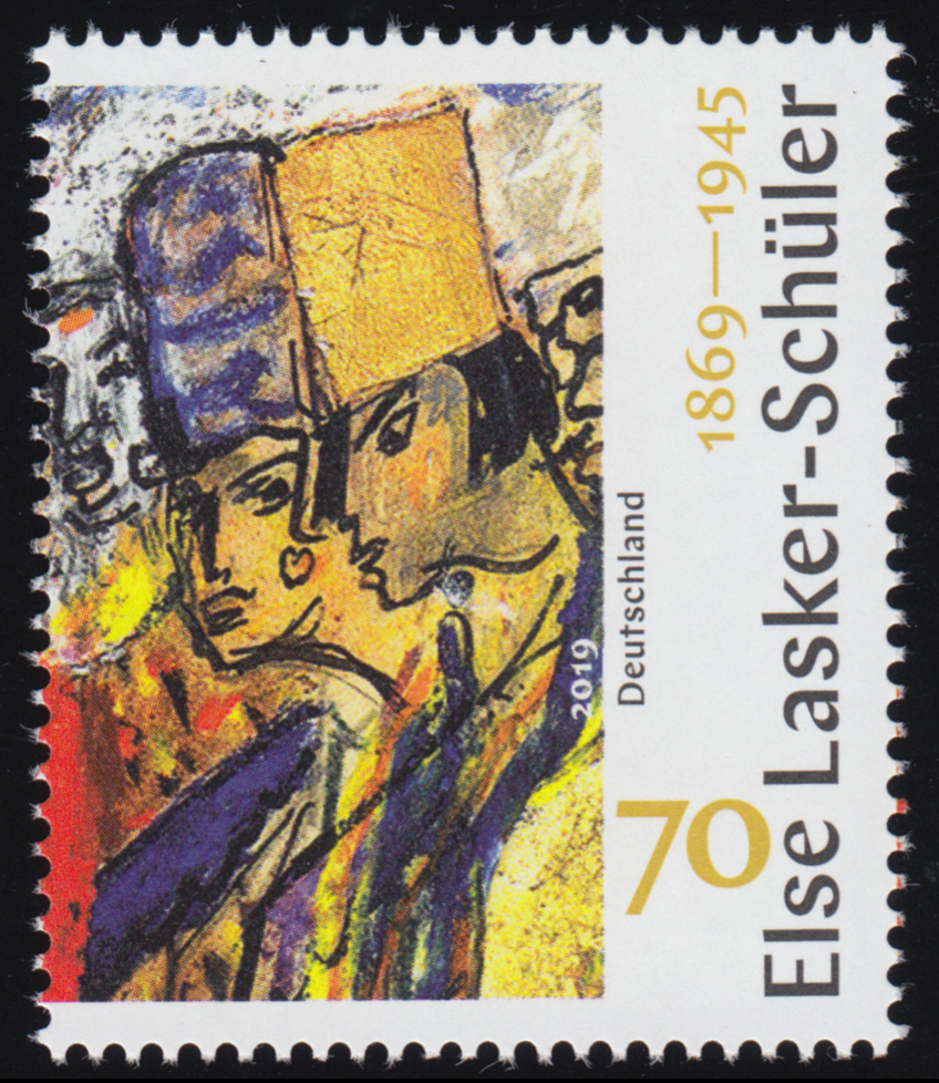3443 Dichterin Else Lasker-Schüler, ** 0