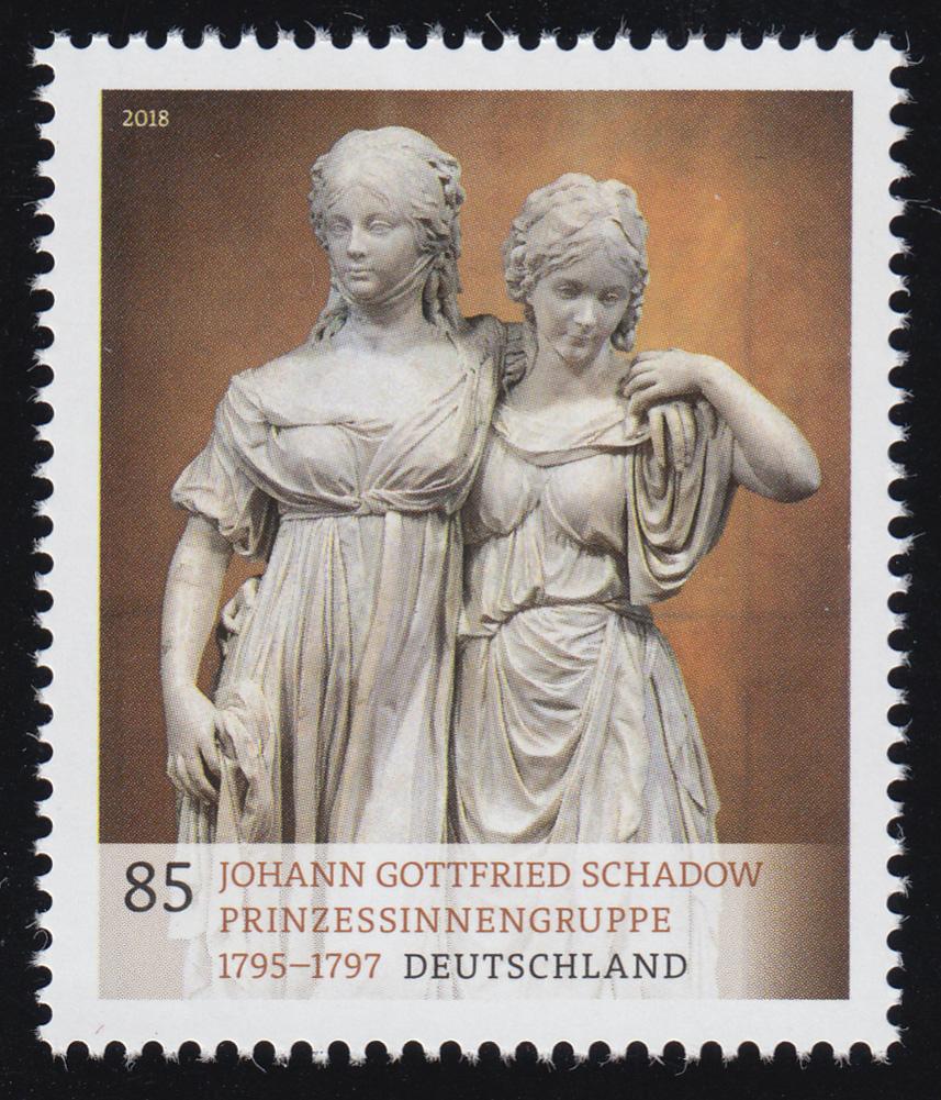 3416 Johann Gottfried Schadow: Die Prnzessinengruppe, ** 0