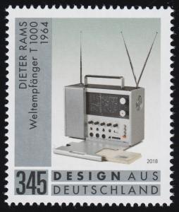 3400 Design aus Deutschland: Dieter Rams-Weltempfänger / Radio , **