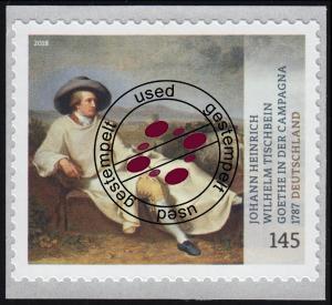 3397 Gemälde Goethe in der Campagna, selbstklebend, O