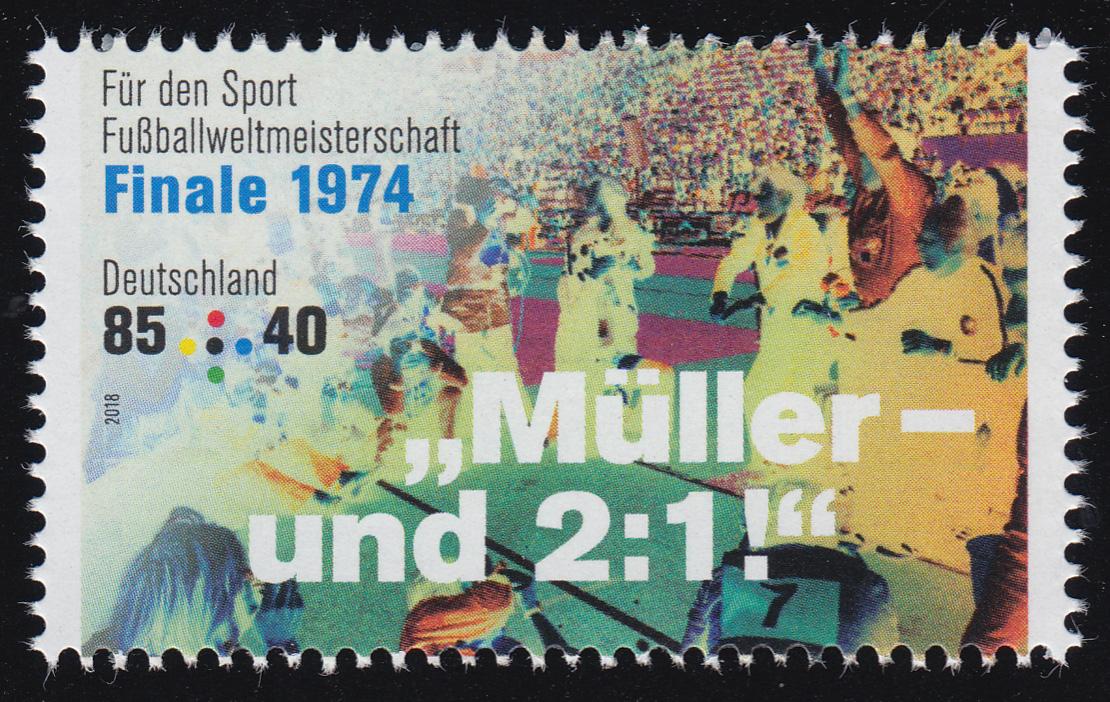 3381 Fußballweltmeisterschaft 85 Cent WM-Finale 1974, ** 0