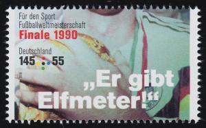 3382 Fußballweltmeisterschaft 145 Cent WM-Finale 1990, **