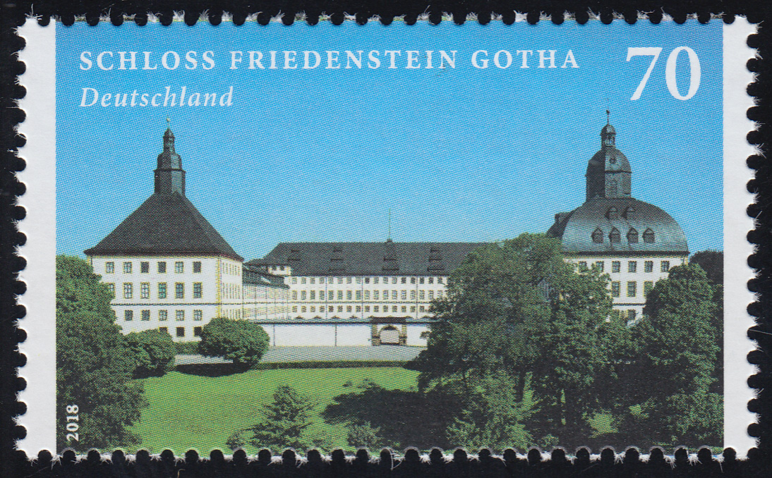 3366 Schloss Friedenstein Gotha, ** 0