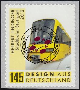 3363 Design aus Deutschland Stadtbahn Stuttgart, selbstklebend, O