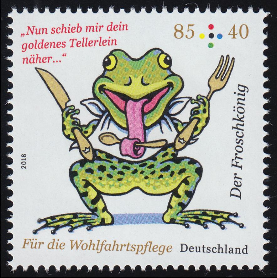 3358 Wofa Grimms Märchen - Der Froschkönig 85 Cent, ** 0