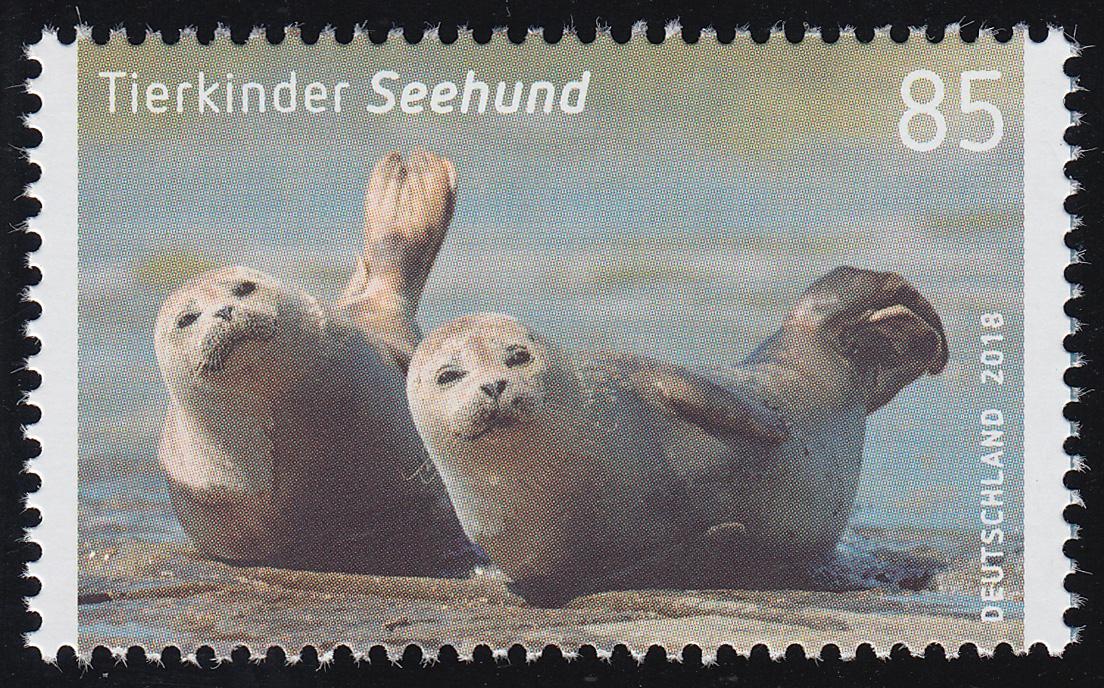 3353 Tierkinder Seehund (Heuler), ** 0