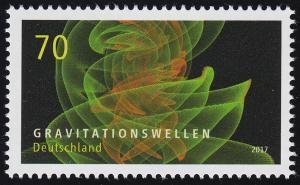 3348 Astrophysik - Gravitationswellen, nassklebend, **