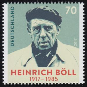3350 Schriftsteller und Nobelpreisträger Heinrich Böll, **