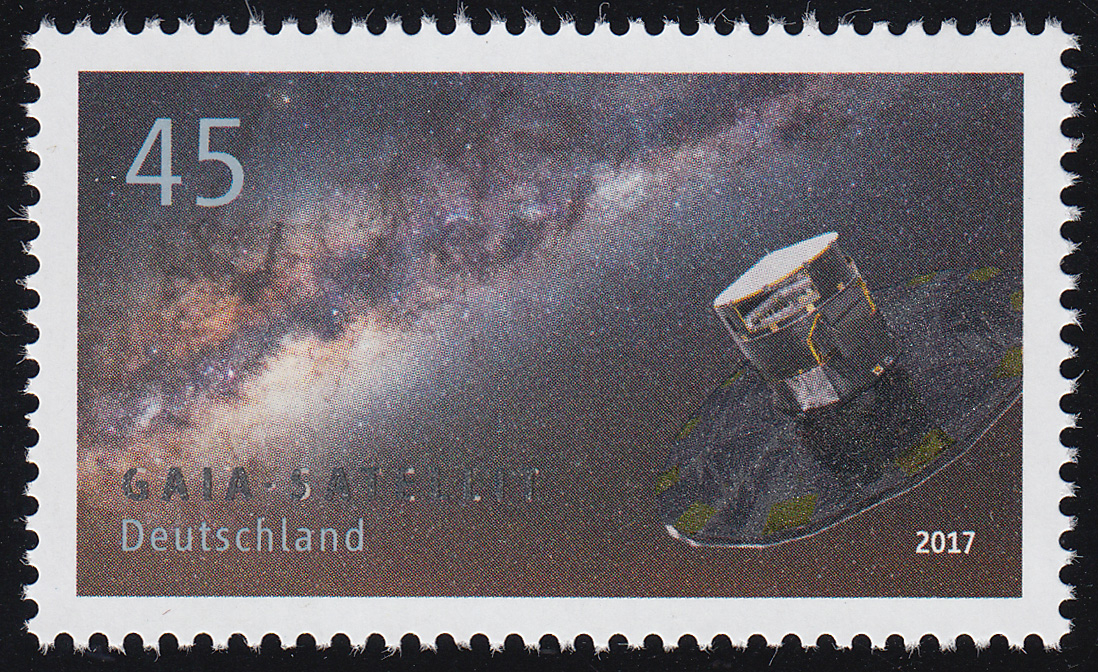 3347 Astrophysik - GAIA-Satellit, ** 0