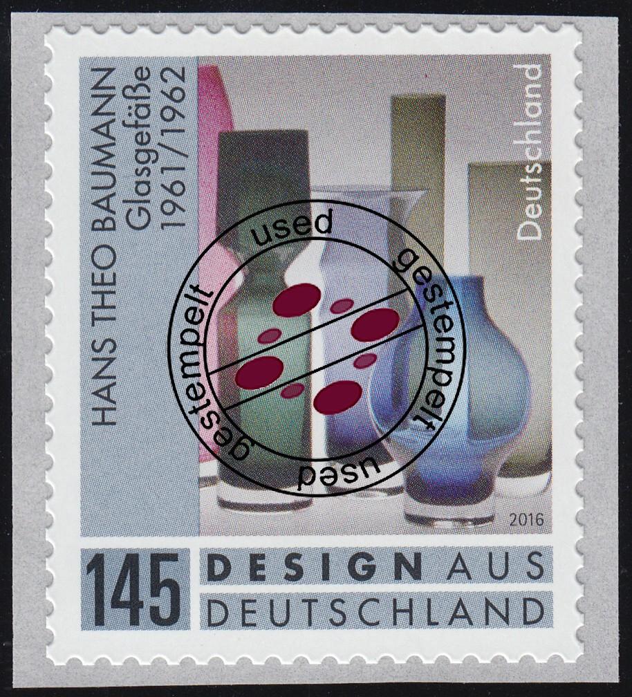 3330 Design in Deutschland - Lifestyle Glasgefäße, selbstklebend, O 0