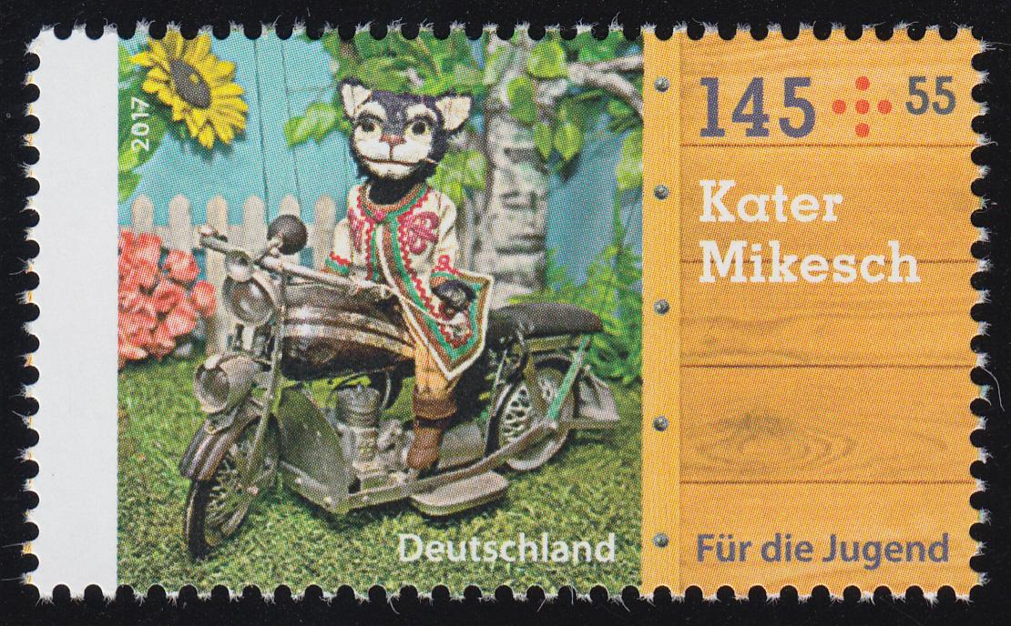 3327 Augsburger Puppenkiste Kater Mikesch 145 Cent, ** 0