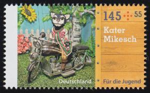 3327 Augsburger Puppenkiste Kater Mikesch 145 Cent, **