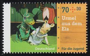 3325 Augsburger Puppenkiste Urmel aus dem Eis 70 Cent, **
