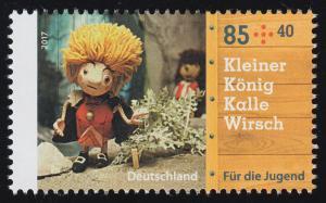 3326 Augsburger Puppenkiste Kleiner König Kalle Wirsch 85 Cent, **