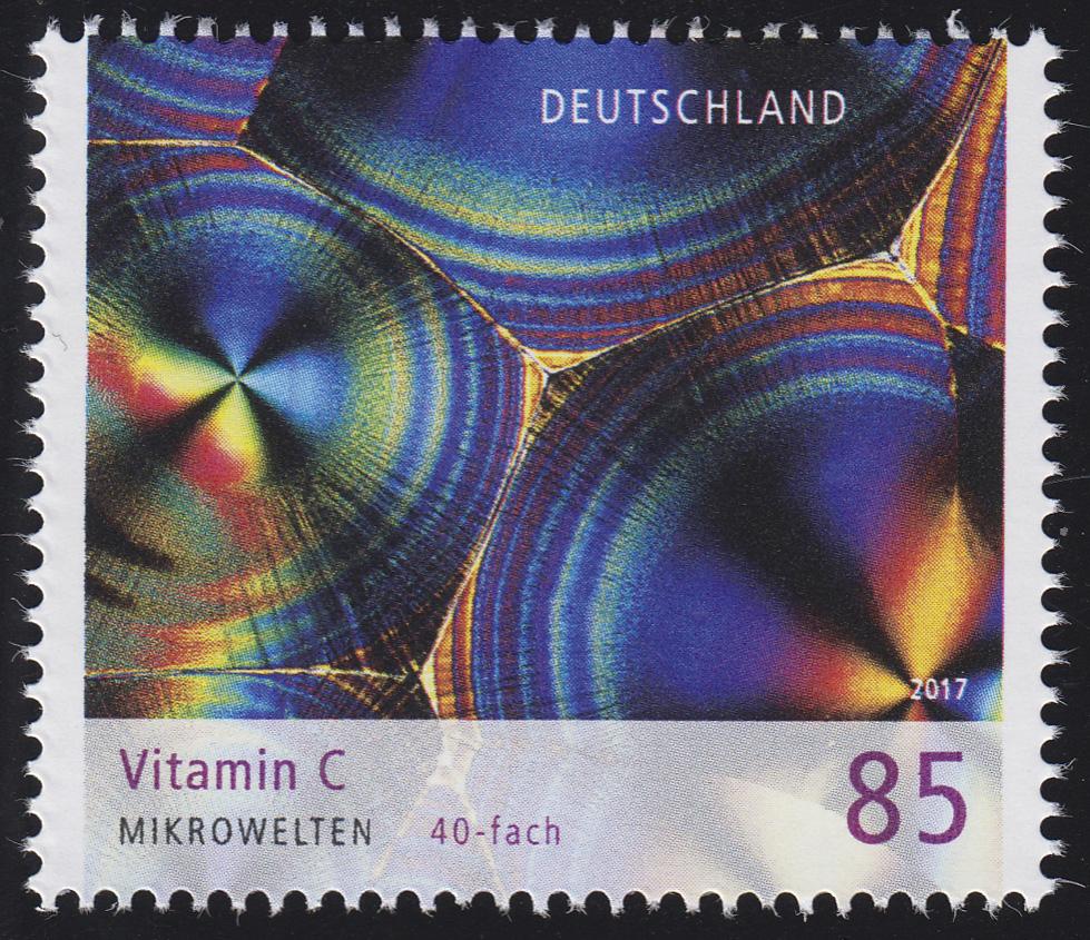 3323 Mikrowelten - Vitamin C, nassklebend, ** 0
