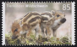 3289 Tierkinder - Wildschwein, nassklebend, **