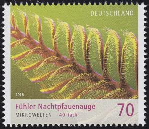 3246 Mikrowelten - Nachtpfauenauge 70 Cent, **