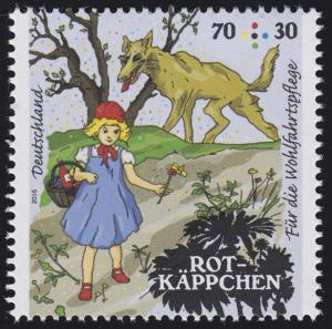 3208 Wofa Grimms Märchen - Rotkäppchen 70 Cent **