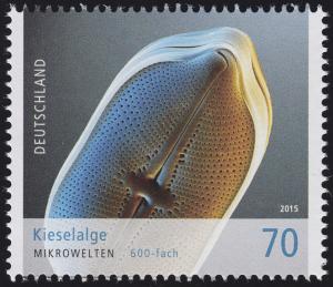 3192 Mikrowelten - Kieselalge 70 Cent **