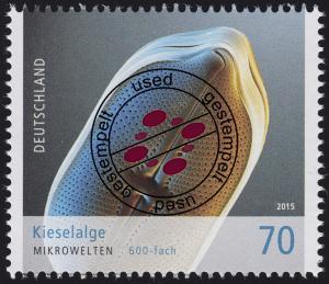 3192 Mikrowelten - Kieselalge 70 Cent O