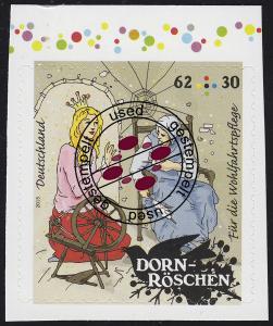 3136 Wofa Grimms Märchen - Dornröschen 62 Cent, selbstklebend O