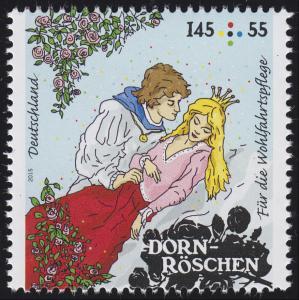 3134 Wofa Grimms Märchen - Dornröschen 145 Cent **
