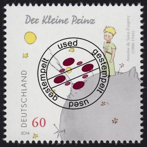 3102 Antoine de Saint-Exupéry - Der kleine Prinz, nassklebend O