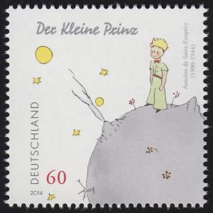 3102 Antoine de Saint-Exupéry - Der kleine Prinz, nassklebend **