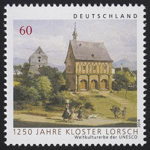 3050 Weltkulturerbe der UNESCO: Kloster Lorsch, nassklebend **