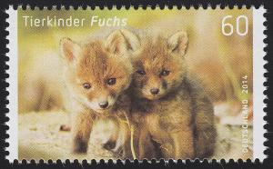 3047 Tierkinder: Fuchs, nassklebend, **