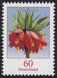 3043 Blume Kaiserkrone 60 Cent, nassklebend, **