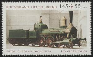 2948 Jugend 145 Cent: Güterzuglokomotive **