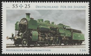 2946 Jugend 55 Cent: Schnellzuglokomotive **