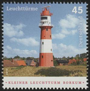 2942 Leuchtturm: Kleiner Leuchtturm Borkum **