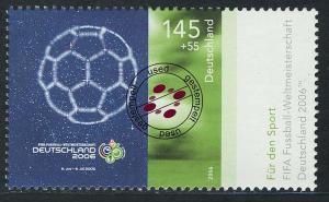 2521 Sporthilfe 145+55 C Fußball-WM WM-Plakat O