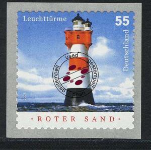 2413 Leuchtturm Roter Sand, SELBSTKLEBEND O