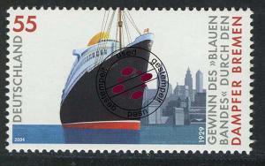 2412 Dampfer Bremen, nassklebend O
