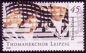 2318 Berühmte Knabenchöre 45 Cent aus Block 61 Thomanerchor **