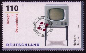 2068 Design aus Block Fernsehgerät O