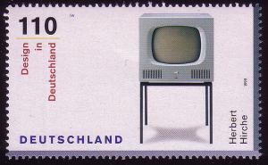 2068 Design aus Block Fernsehgerät **