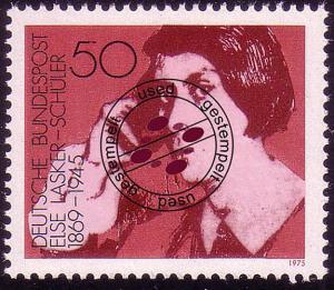 828 Deutsche Frauen 50 Pf Lasker-SchülerO