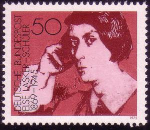 828 Deutsche Frauen 50 Pf Lasker-Schüler**