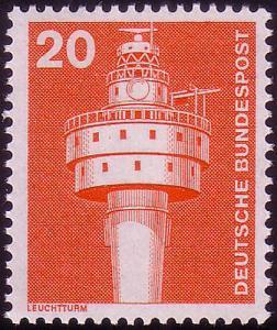 848 Industrie und Technik 20 Pf Leuchtturm ** postfrisch